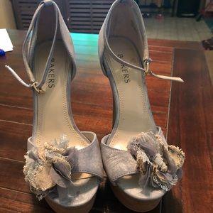 Bakers light blue heels